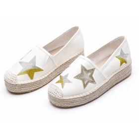 [ヘブンデイズ] Heaven Days エスパドリーユ スリッポン 靴 フラットシューズ 星 レディース 1805C0485