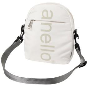 (アネロ)anello ビッグロゴ ミニショルダー バッグ ショルダーバッグ メンズ レディース ショルダー バッグ ボディバッグ ホワイト F