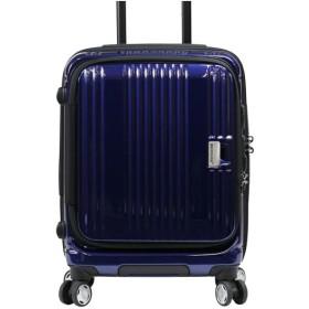 カバンのセレクション バーマス スーツケース 機内持ち込み Sサイズ フロントオープン 軽量 38L USB BERMAS 60290 ユニセックス ネイビー 在庫 【Bag & Luggage SELECTION】