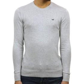 [ホリスター] HOLLISTER 正規品 メンズ クルーネックセーター Lightweight Crewneck Sweater 320-201-0661-178 S 並行輸入品 (コード:4129490302-2)