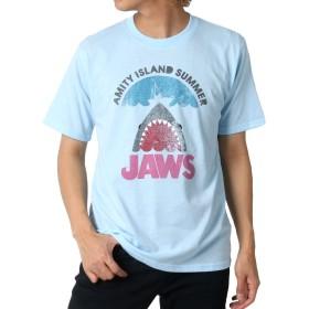 [ジョーズ] Tシャツ ロゴ プリント 半袖 メンズ 柄4 M