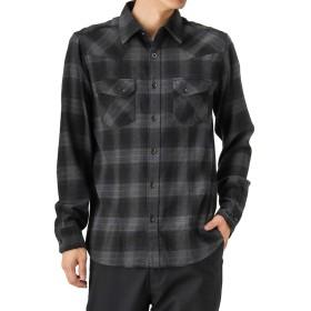 MOSSIMO(モッシモ) 起毛チェックシャツ ウェスタンシャツ 長袖 8470-8411M メンズ グレー:M