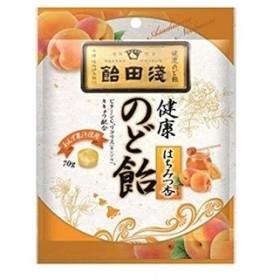 「浅田飴」 のど飴 はちみつ杏 70g 「フード・飲料」