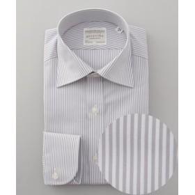 【五大陸:トップス】【形態安定】PREMIUMPLEATS ドレスシャツ / ロンドンストライプ