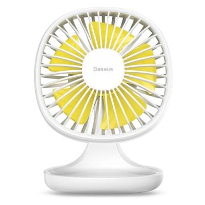 Baseus 倍思 小布丁風扇 /桌面風扇 電風扇 強風力 三擋風速