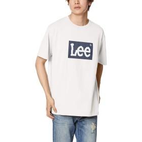 [ウィゴー] LEEボックスロゴプリントT(S) L ホワイト