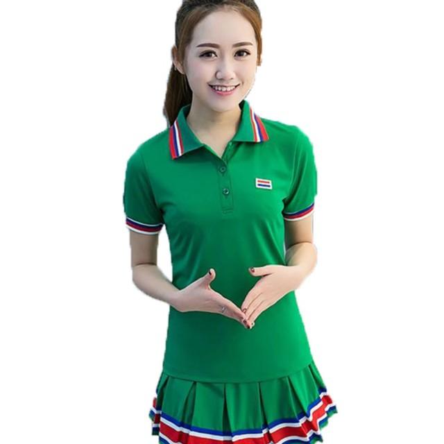 半袖Tシャツ+ミニスカート セットアップ レディース