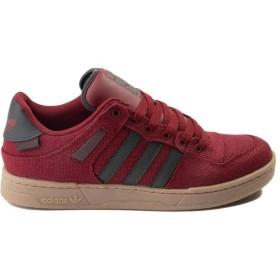[アディダス] 靴・シューズ メンズスニーカー Mens Bucktown Athletic Shoe バーガンディ/グレー/ガム US 8 (26cm) [並行輸入品]