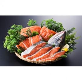 北海道産新巻鮭姿切身約2.4~2.7kg