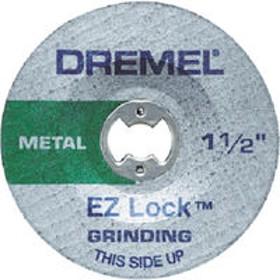 BOSCH(ボッシュ) ドレメル EZ-Lock研削用ホイール (2個入) EZ541GR 1箱(2個) 407-5790(直送品)