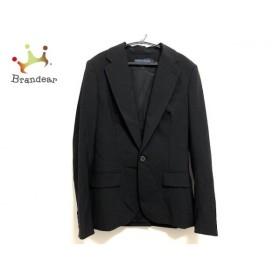 ラルフローレン RalphLauren ジャケット サイズ4 S レディース 美品 黒 肩パッド 新着 20190716