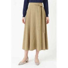 HUMAN WOMAN(ヒューマン ウーマン)/《arrive paris》ストレッチオックス フレアスカート