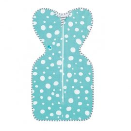 【淘氣寶寶】澳洲 Love To Dream SWADDLE UP 蝶型包巾-設計款 S 綠圈【新生兒包覆款】