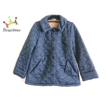 ホコモモラ JOCOMOMOLA コート サイズ40 XL レディース 美品 ネイビー キルティング/冬物 新着 20190716
