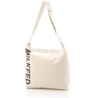 【MILKFED.:バッグ】STENCIL CANVAS SHOULDER BAG