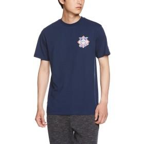 [マジェスティック] NATIONAL LEAGUE Tシャツ MM01NAL8S32 [メンズ] ネイビー (1) 日本 L (日本サイズL相当)