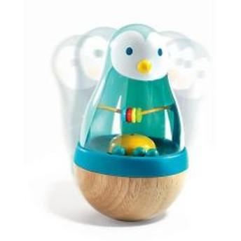 おきあがりこぼし ローリーピンギー 赤ちゃん 木製 子供 知育玩具 ジェコ DJECO【5%OFFクーポン利用可能】【コード:CP34TSW】