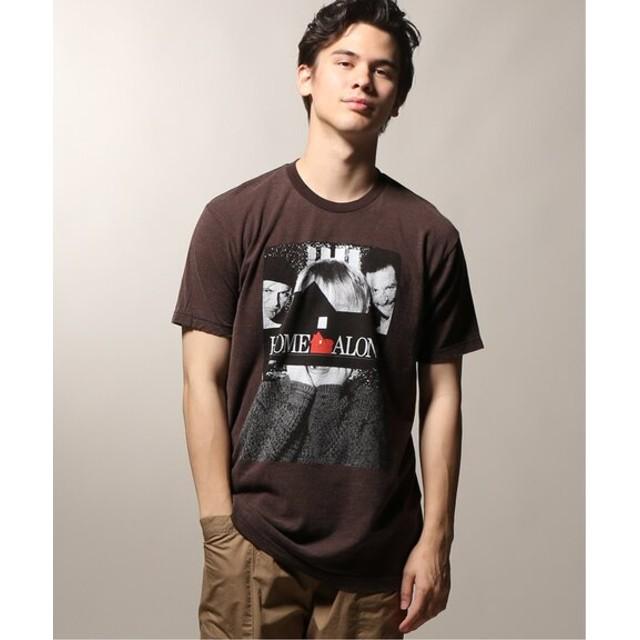 JOURNAL STANDARD relume HOME ALONE POSTER Tシャツ ブラック XL