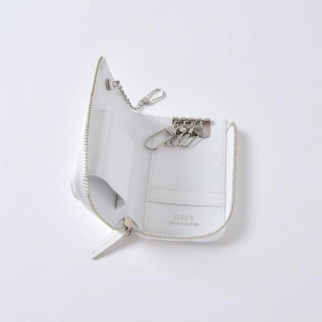 [マルイ] SD: 【SAFFIANO LEATHER】 キーケース/シップス(メンズ)(SHIPS)