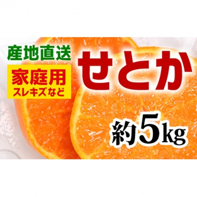 【産地直送】家庭用 せとか 約3kg(S~5L)