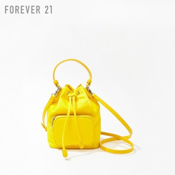 FOREVER21 フォーエバー21 【ナイロンバケットハンドバッグ】(5,000円以上購入で送料無料)