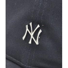キャップ - stylise ニューエラ キャップ ◆ NEW ERA 9THIRTY クロスストラップ メタルロゴ ニューヨーク・ヤンキース ネイビー×シルバー12119364 メンズ 帽子 ミニロゴ