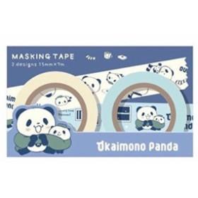 お買いものパンダ マスキングテープセット ~ほっこりシリーズ~*楽天 お買い物パンダ ポイント交換 *