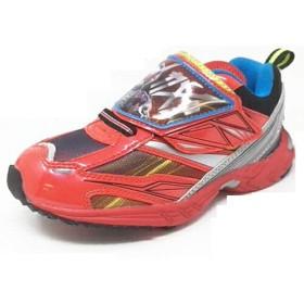 9052 仮面ライダージオウ キッズ スニーカー 仮面ライダー ライダー ジオウ 靴 運動靴 くつ (15cm, 02(レッド))