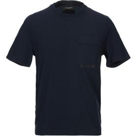 《期間限定 セール開催中》PAOLO PECORA メンズ T シャツ ダークブルー M コットン 95% / ポリウレタン 5%