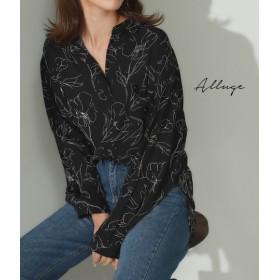 【セール開催中】ANAP(アナップ)フラワープリントポッケ付きシャツ
