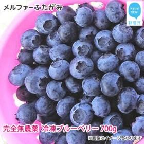 【先行予約】完全無農薬栽培 完熟ブルーベリー700g(冷凍) 毎年人気の冷凍ブルーベリーです♪