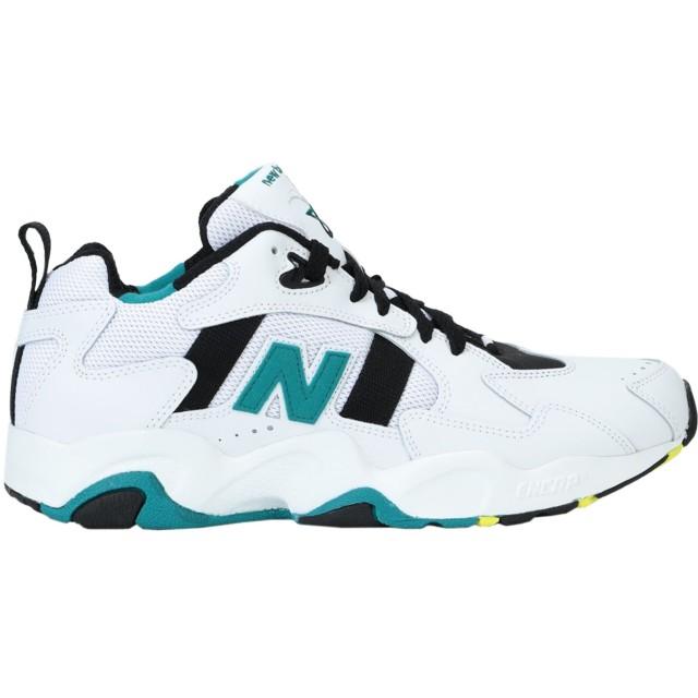 《期間限定セール開催中!》NEW BALANCE メンズ スニーカー&テニスシューズ(ローカット) ホワイト 7.5 革 / 紡績繊維 650