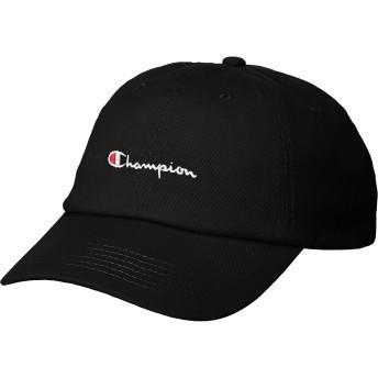 [ウィゴー] WEGO Champion チャンピオン ロー キャップ 帽子 FREE フリーサイズ ブラック メンズ