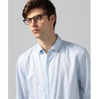 トゥモローランド コットン ワンピースカラーシャツ CANCLINI メンズ 63ライトブルー L 【TOMORROWLAND】