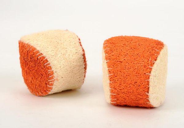 ×寵物玩具×絲瓜絡網球寵物玩具 狗狗玩具泰迪比熊磨牙潔齒 寵物用品14T0022GY0006