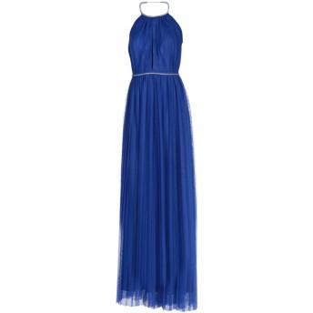 《セール開催中》SOANI レディース ロングワンピース&ドレス ブライトブルー 44 ポリエステル 100%