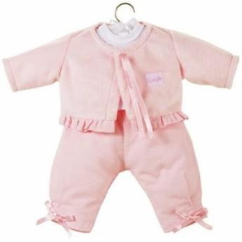 コロールCorolle Classic Baby Doll 17-inch Fashion Candy Pink Pants Set