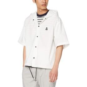 [ウィゴー] バックロゴフーディシャツ(5) M ホワイト
