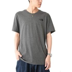 グレー S (ベストマート)BestMart THE NORTH FACE ノースフェイス DOME Tシャツ メンズ 624829-004-101