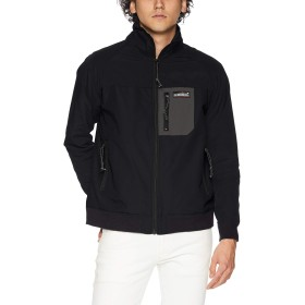 (クリフメイヤー) KRIFF MAYER アクティブスウィングジャケット ハイネックブルゾン スウィングトップ XL ブラック メンズ