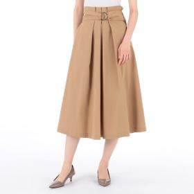 Tiara(ティアラ)/タスラン巻き風ベルテッドフレアスカート