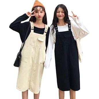 YiTong レディース ショートパンツ サロペット デニム 夏 パンツ 半分ズボン オーバーオール ジーンズ 大きいサイズ スリム 韓国風 短パン ショート丈 サロペット ハーフパンツ ゆったり ファッションブラックW