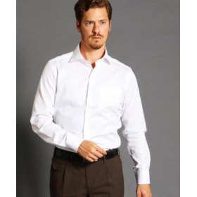 (MONSIEUR NICOLE/ムッシュニコル)総柄ドレスシャツ/メンズ 09ホワイト