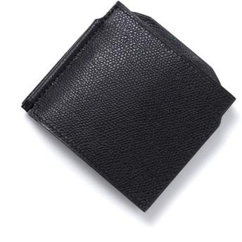 ヴァレクストラ Valextra マネークリップ 財布 ブラック メンズ レディース v0l54-28-n