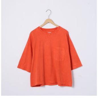 【coen:トップス】Sulphur dyes ワイドTシャツ