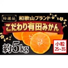 【こだわり】有田みかん 5kg(2S・3Sサイズ)