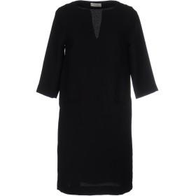 《期間限定 セール開催中》OTTOD'AME レディース ミニワンピース&ドレス ブラック 46 ポリエステル 100%