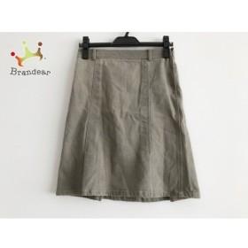 セオリー theory スカート サイズ0 XS レディース 美品 グレー デニム 新着 20190716