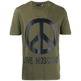 Love Moschino ロゴプリント Tシャツ - グリーン