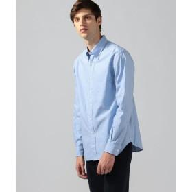 トゥモローランド コットンオックスフォード ボタンダウンシャツ メンズ 65ブルー S 【TOMORROWLAND】
